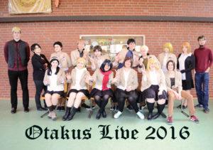Otakus Live Gruppenbild